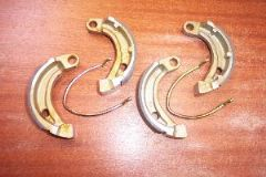 BS. Apache / Quadzilla RLX50, RLX100, ZR50, etc. Front Brake Shoes (13462)